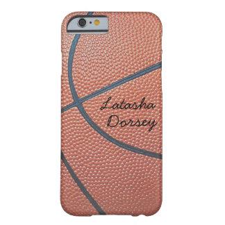 texture_Autograph-Style de Spirit_Basketball del Funda De iPhone 6 Barely There