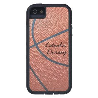 texture_Autograph-Style de Spirit_Basketball del Funda Para iPhone 5 Tough Xtreme