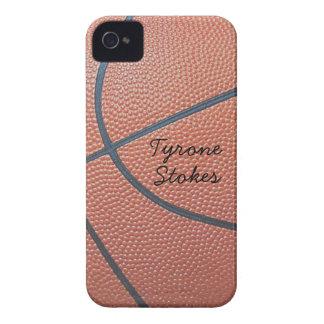 texture_Autograph-Style de Spirit_Basketball del iPhone 4 Funda