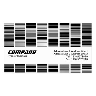 Texture Band - Codex Double-Sided Standard Business Cards (Pack Of 100)