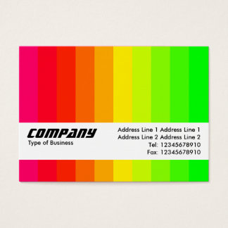 Texture Band - Color Bars 02 Business Card