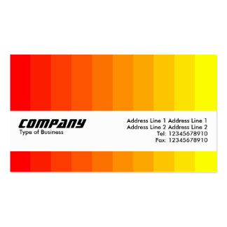 Texture Band - Color Transition Business Card Template