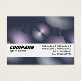 Texture Band - Cymbalism II Business Card