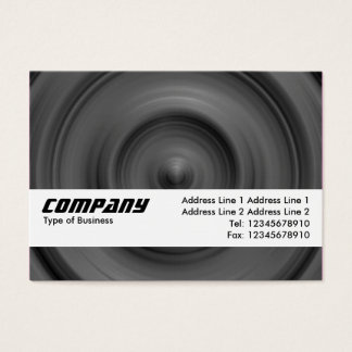 Texture Band - Fast Car Business Card