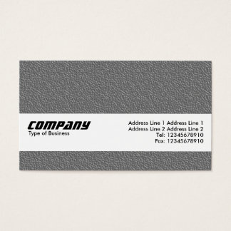 Texture Band - Mid Gray Embossed Texture Business Card