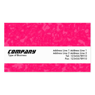 Texture Band - Raspberry Sauce Business Cards