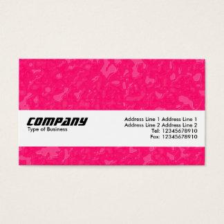 Texture Band - Raspberry Sauce Business Card