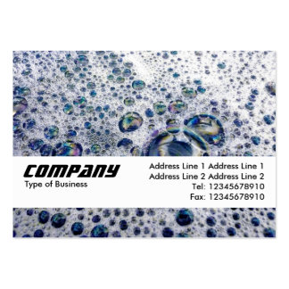 Texture Band - Soap Suds Large Business Card
