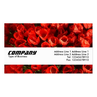 Texture Band - Tulips Business Card