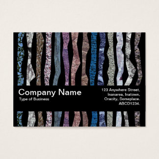 Texture Band V2 - Mineral Stripes Business Card