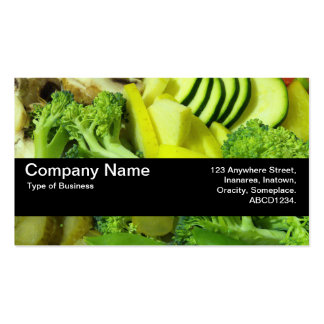 Texture Band V2 - Stir-fry Vegetables 01 Double-Sided Standard Business Cards (Pack Of 100)