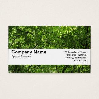 Texture Band V2 - Woodland Canopy Business Card  sc 1 st  Zazzle & Canopy Business Cards u0026 Templates | Zazzle