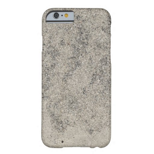Texture Concrete Cement Barely There iPhone 6 Case