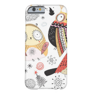 Texture funny owl iPhone 6 case