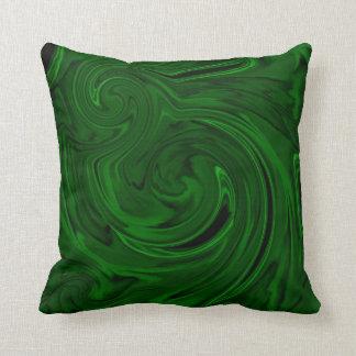 texture green malachite pillow