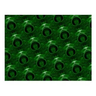 texture green malachite postcard