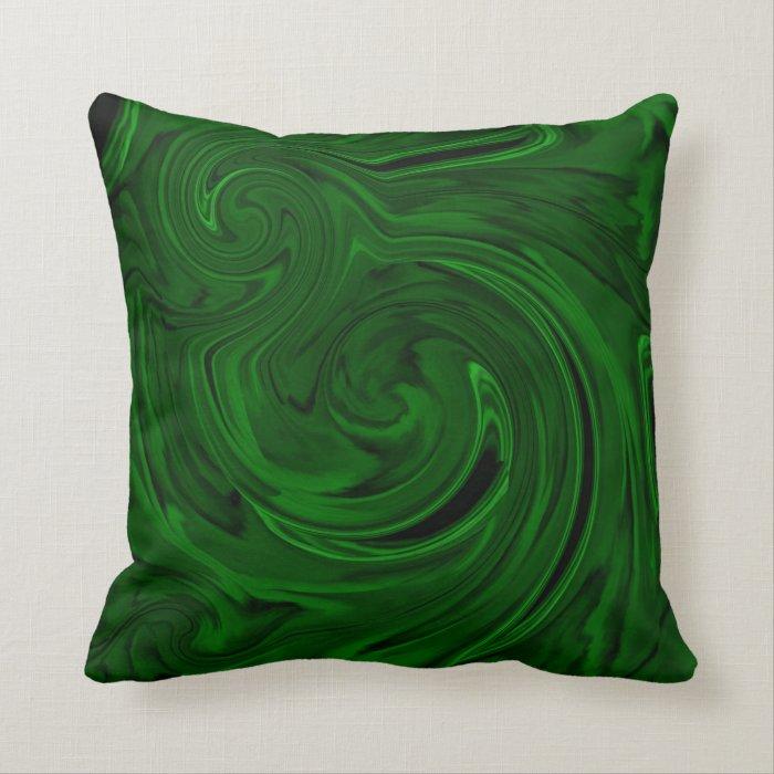 texture green malachite throw pillow Zazzle