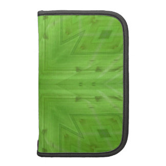 Texture Green wood pattern Folio Planners