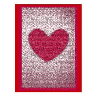 Texture Heart Card Anti Valentine