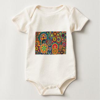 Texture Images Fash Baby Bodysuit