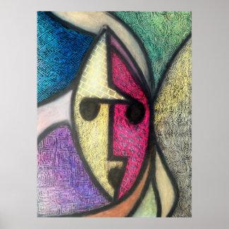 Texture Mask Print
