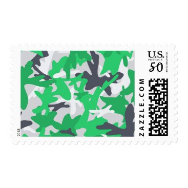 texture military camouflage green hunting postage