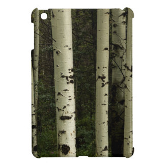 Texture Of A Forest Portrait iPad Mini Cover