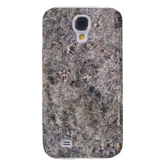 Texture of Dry Grass and Leaves Samsung Galaxy S4 Cases