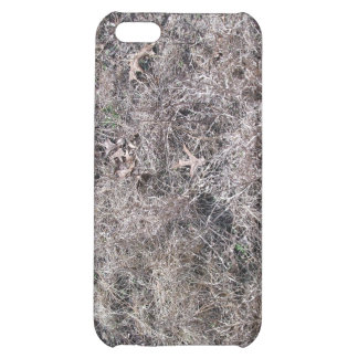 Texture of Dry Grass and Leaves Case For iPhone 5C