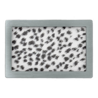 Texture of leopard fur rectangular belt buckle