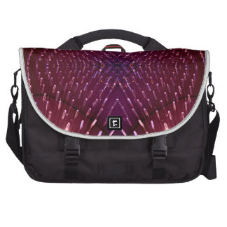 Texture of Light 2 - Pink and Red Laptop Computer Bag