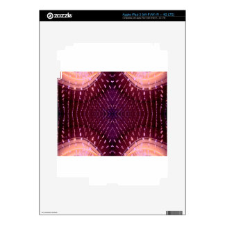 Texture of Light 2 - Pink and Red Decal For iPad 3