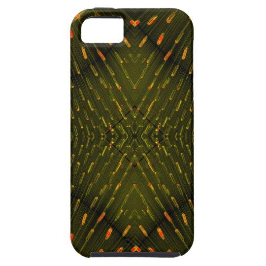 Texture of Light - Orange Green Light Thing iPhone SE/5/5s Case