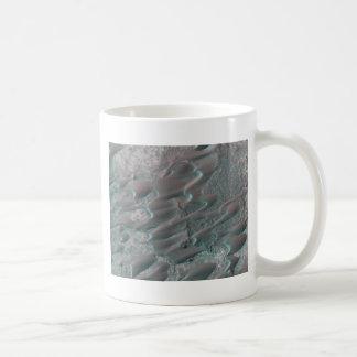 texture of mars dunes coffee mug