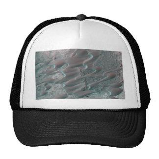 texture of mars dunes trucker hat