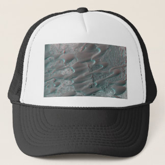 texture of mars dunes trucker hat