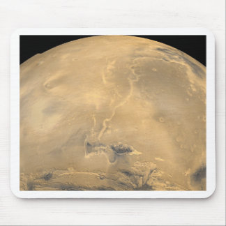 texture of mars mouse pad