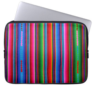 Texture Of Mexican Fabric Computer Sleeve