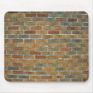 Texture of Mixed Color Brick Wall Mousepad