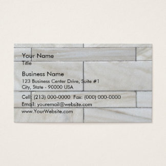 Texture Of Stacked Stone Wall Tile Business Card