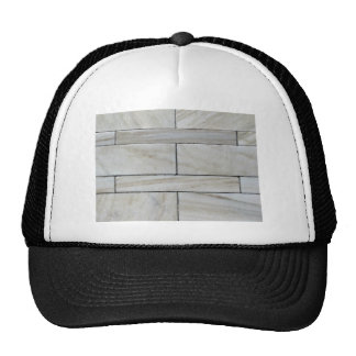 Texture Of Stacked Stone Wall Tile Trucker Hats