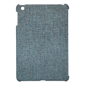 Texture of the fabric of the thick filaments close iPad mini cover