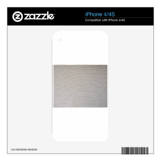 Texture of white fabric striped for background skins for iPhone 4S