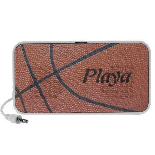 texture_Player de Spirit_Basketball del equipo par Notebook Altavoz