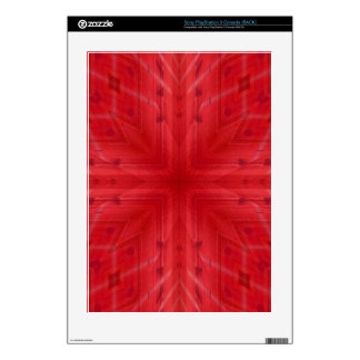 Texture Red wood pattern PS3 Decal
