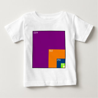 Texture Sizes in Games Baby T-Shirt