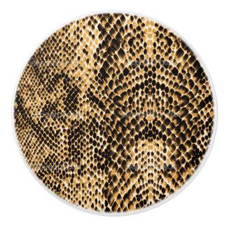 Texture  Snake SkinLook Ceramic Knob