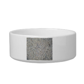 Texture - Stony Ground Background Cat Food Bowls