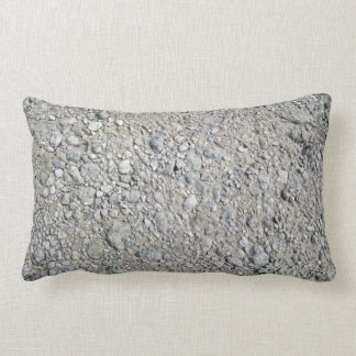 Texture - Stony Ground Background Pillow