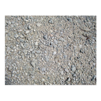 Texture - Stony Ground Background Postcard